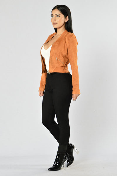 King of Pop Jacket - Camel