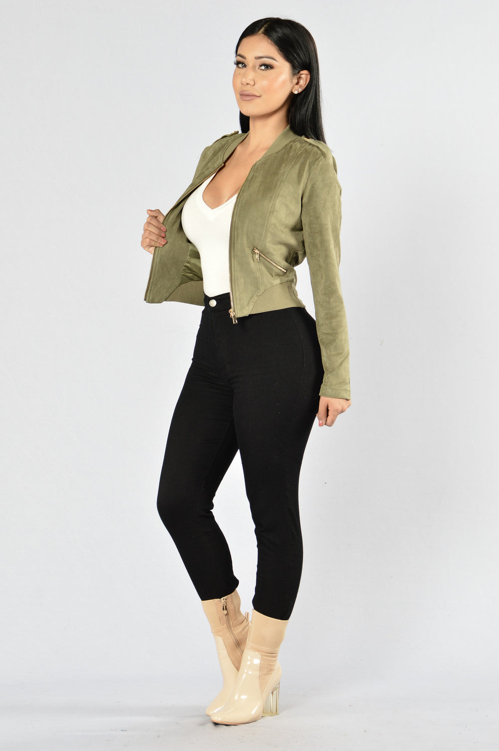 King of Pop Jacket - Olive