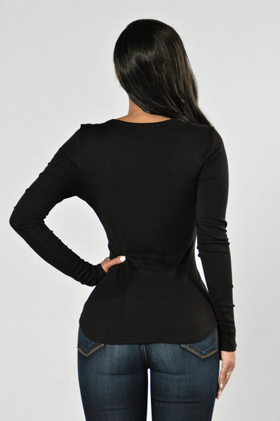 Rush Hour Top - Black