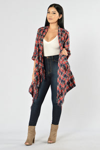Snuggle By The Fire Jacket - Green