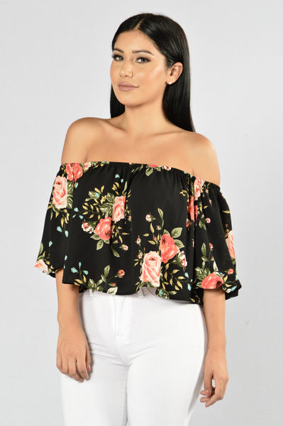 Frida Top - Black