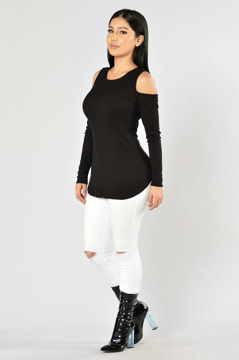 Thunder And Lightning Top - Black