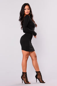 Raegen Mini Dress - Black