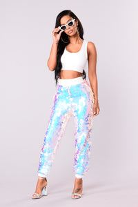 Brighter Than You Joggers - Mermaid