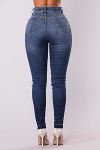 Mayu Skinny Jeans - Dark Denim