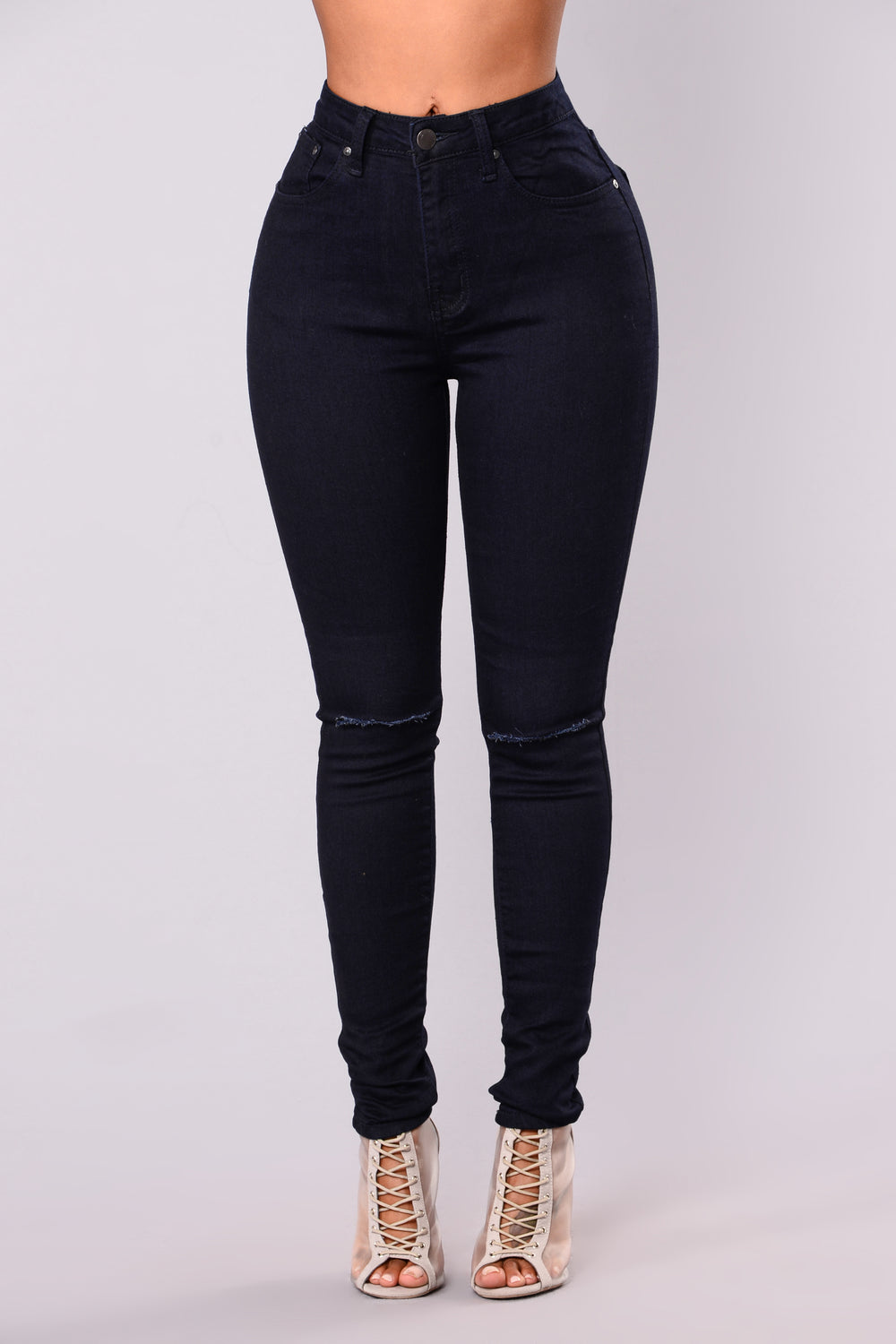 Suvi Skinny Jeans - Dark Denim
