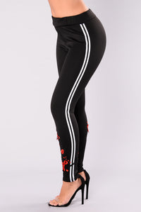 Oh My Rosa Leggings - Black