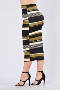 Up to Par Skirt - Olive