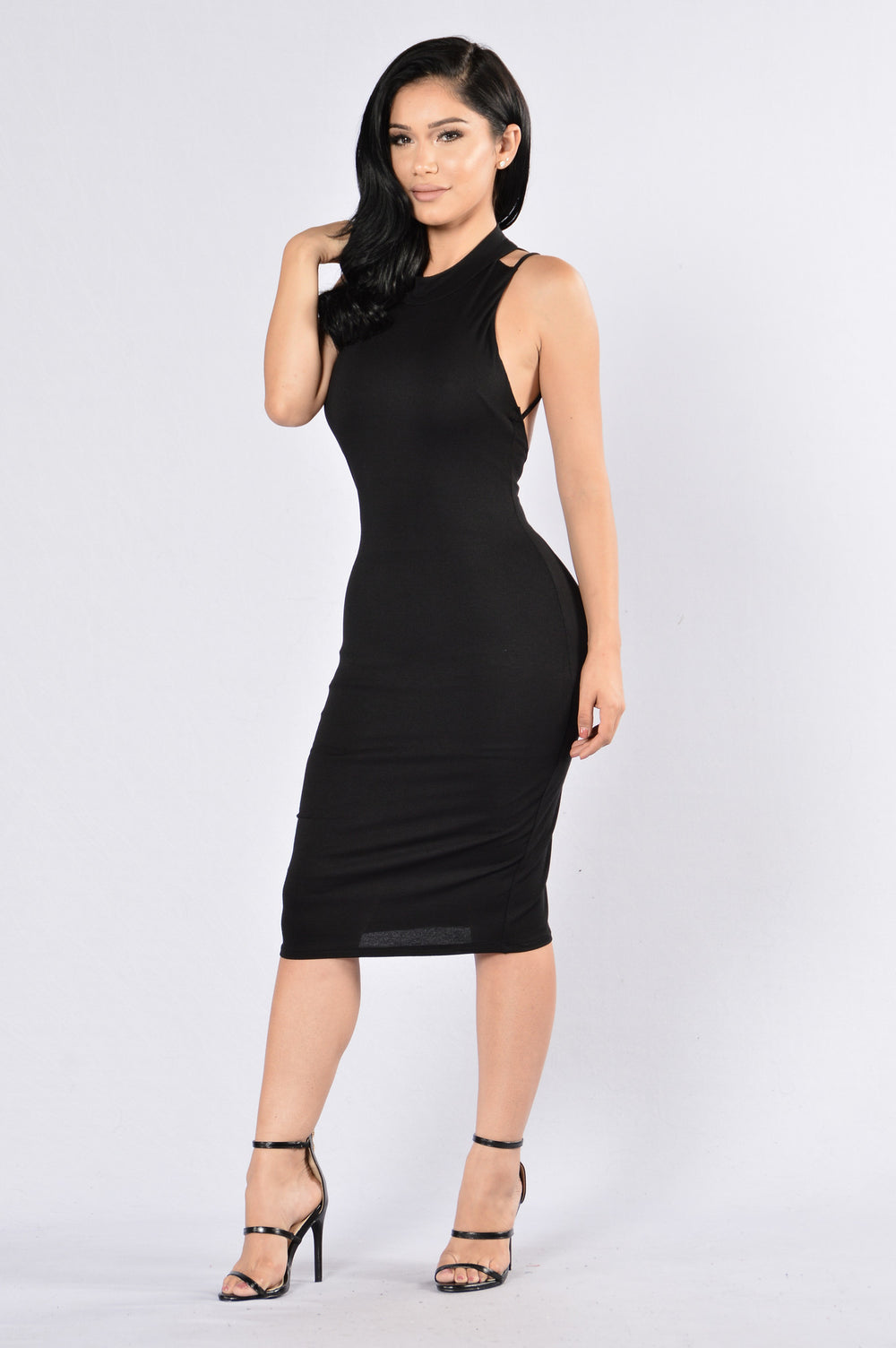 Ask Me Out Dress - Black