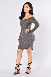 Fly Free Dress - Black