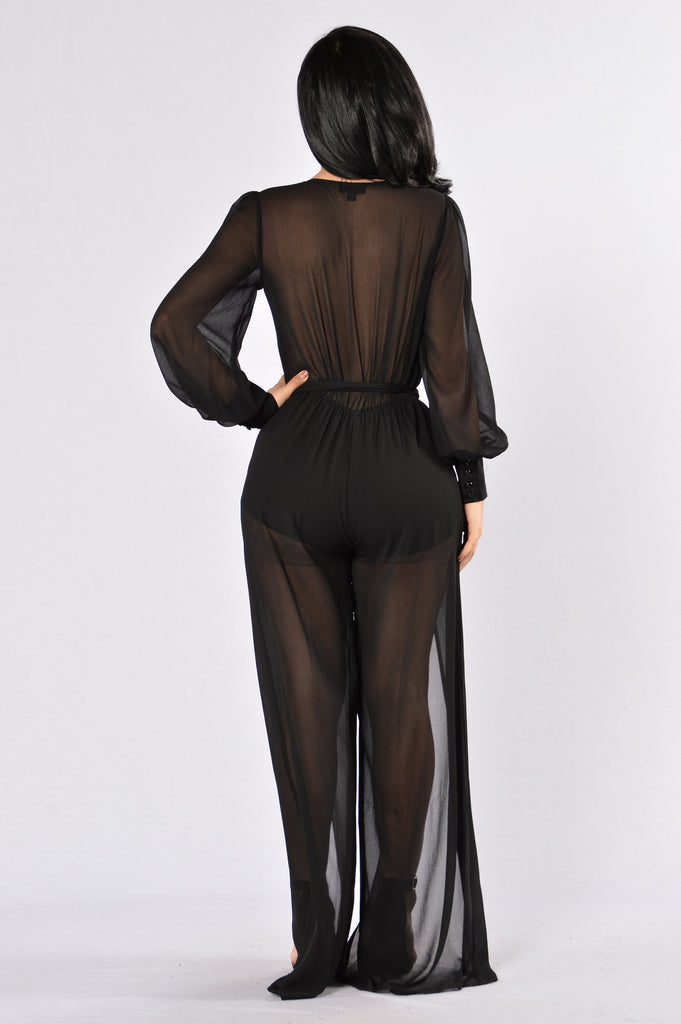 Celebration Jumpsuit - black