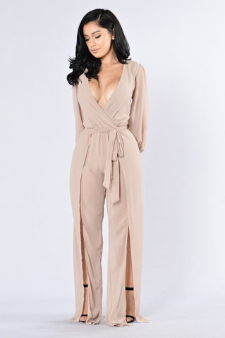 Celebration Jumpsuit - Mocha
