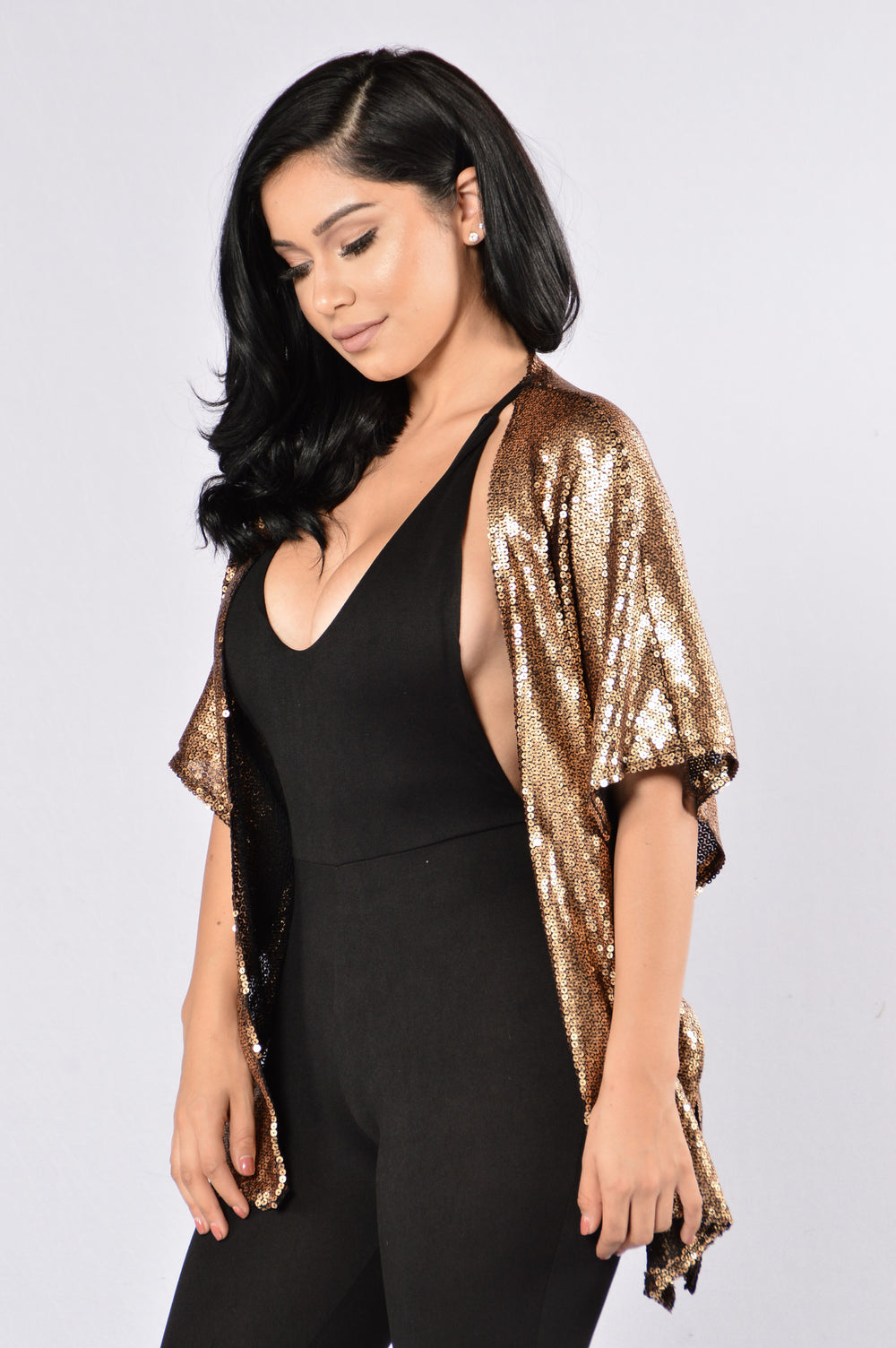 Shine of The Night Kimono - Gold
