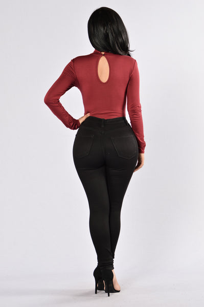 Key To Your Heart Bodysuit - Ruby