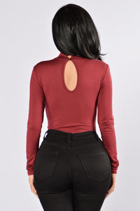 Key To Your Heart Bodysuit - Ruby Angle 2