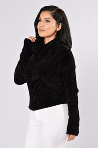 Back to the Grind Sweater - Black