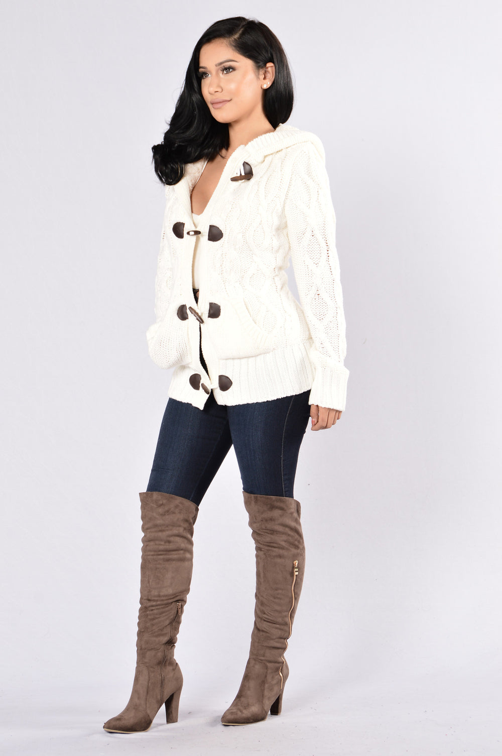 Galway Sweater - Ivory
