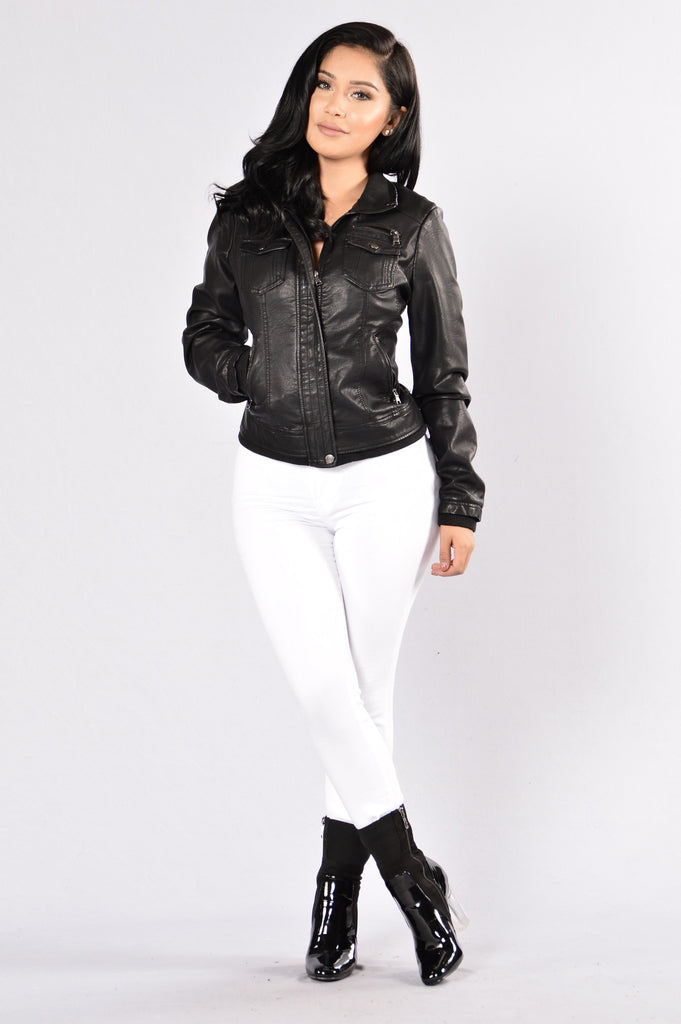 Livin' the Vida Loca Jacket - Black