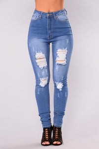 Shear Bliss Skinny Jeans - Medium