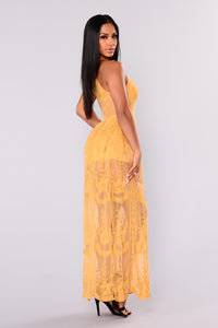 Just Love Me Dress - Mustard