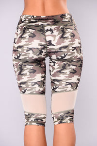 Florence Camo Active Leggings - Camouflage