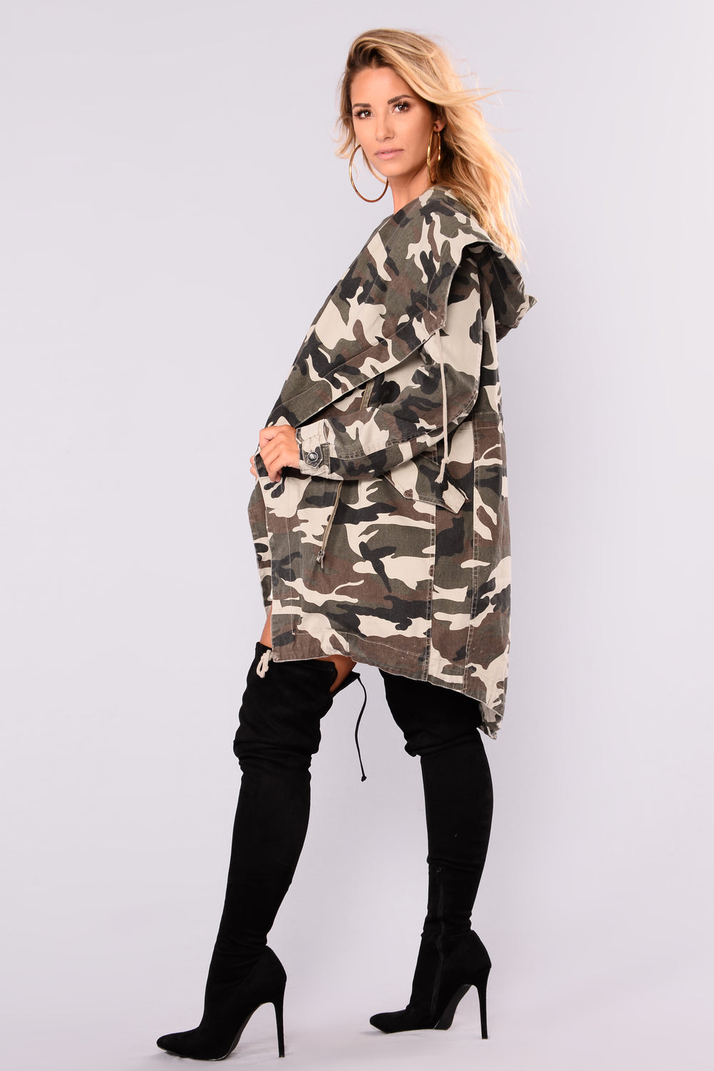 Your Command Jacket - Camo
