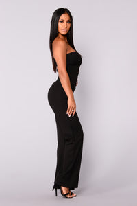 Liv Tube Jumpsuit - Black
