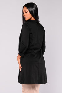 Downtown Lover Jacket - Black