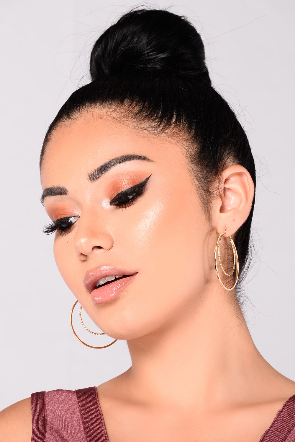 Practically Chic Hoops - Gold
