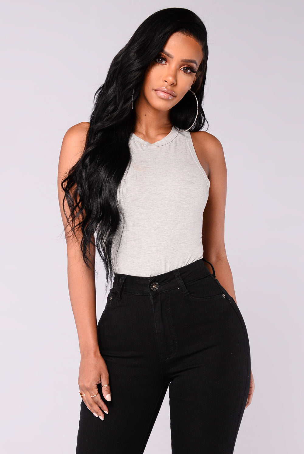 Riley Bodysuit - Grey