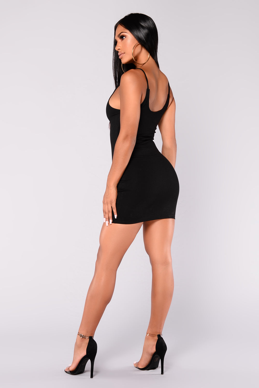 Julianna Bodycon Dress - Black