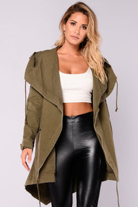 Your Command Jacket - Olive