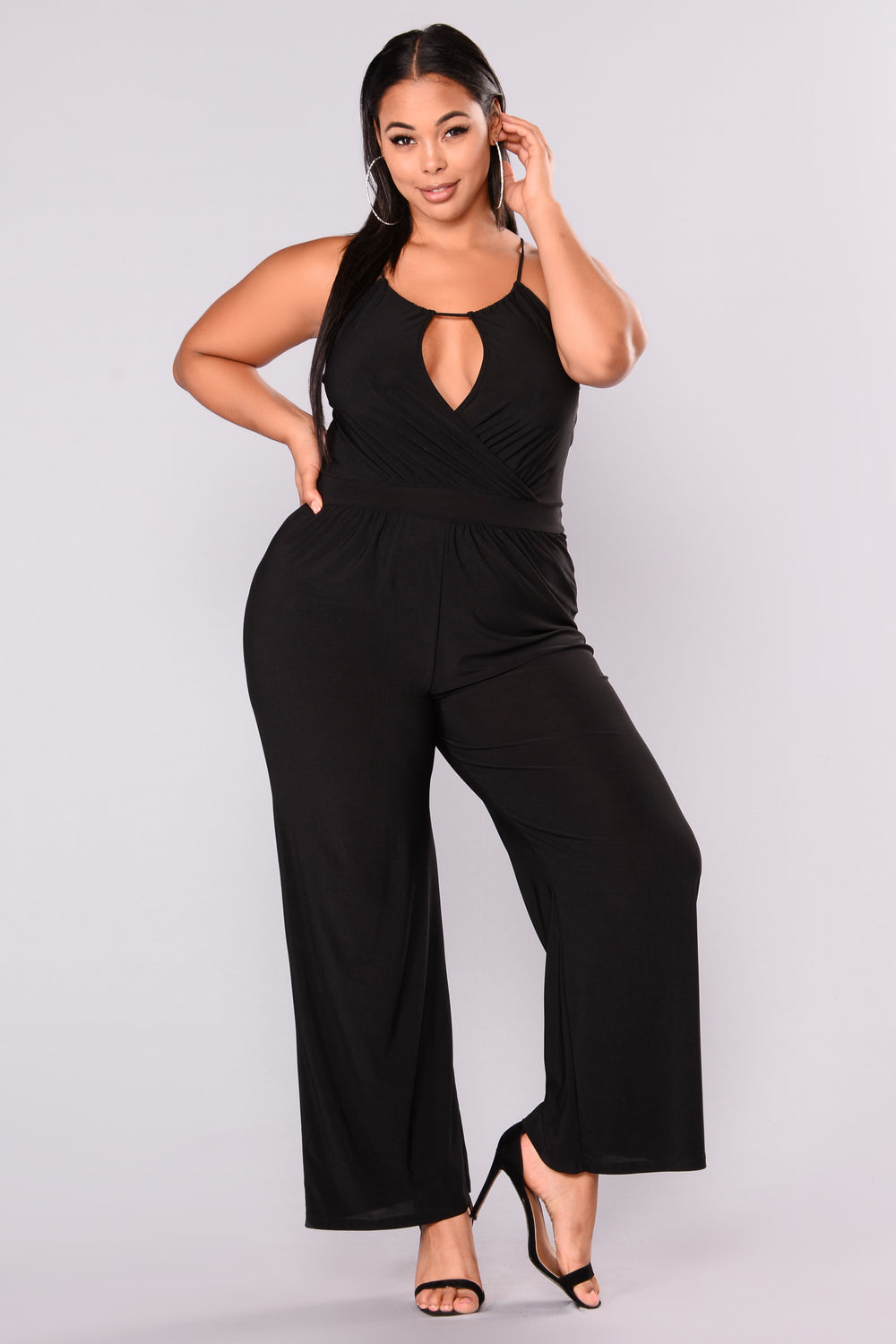 Bad At Love Jumpsuit - Black
