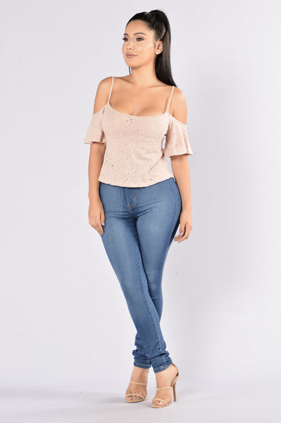 Chill Day Top - Dusty Rose