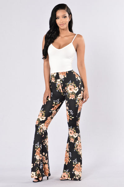 Feeling Your Vibes Pants - Black