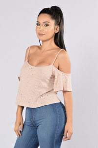 Chill Day Top - Dusty Rose Angle 3