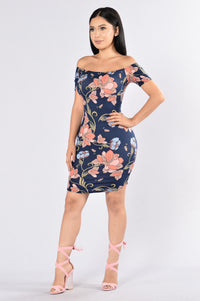 Ivy Dress - Navy