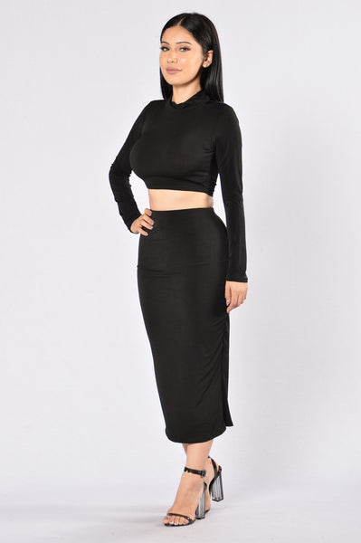 Rock My Body Skirt - Black