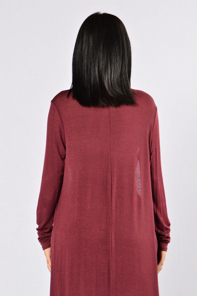 Love Me Madly Cardigan - Burgundy