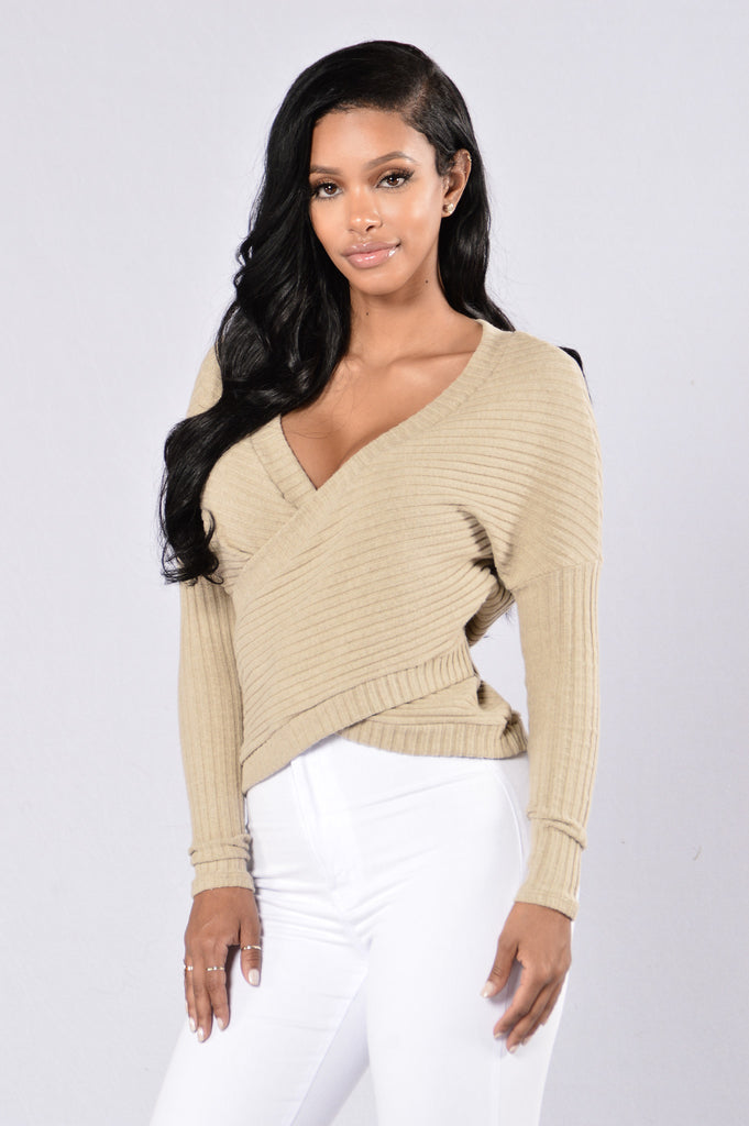 Don't Refuse My Love Top - Taupe