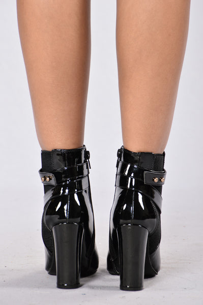 Sergeant Babe Boot - Black