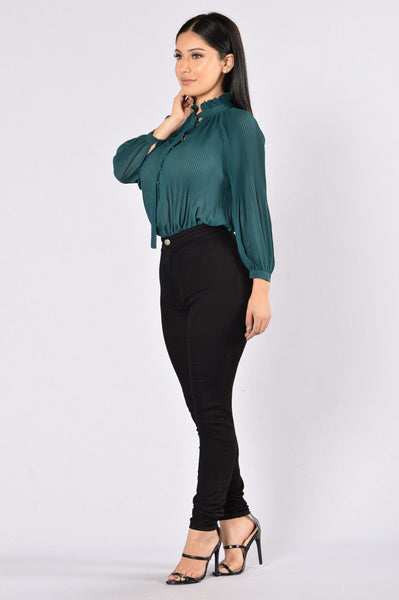Chambers Bodysuit - Dark Green