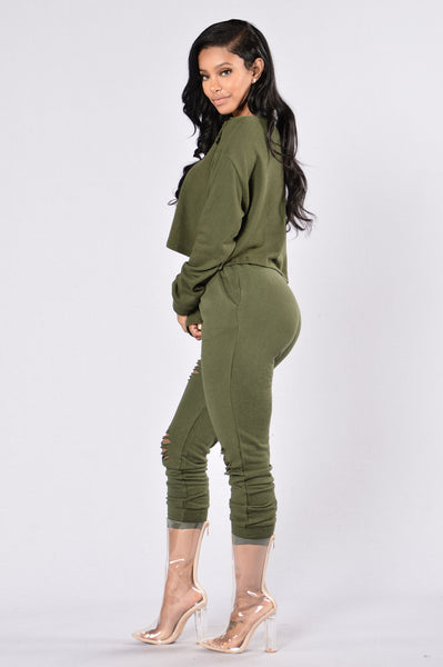 Savage Mode Top - Olive