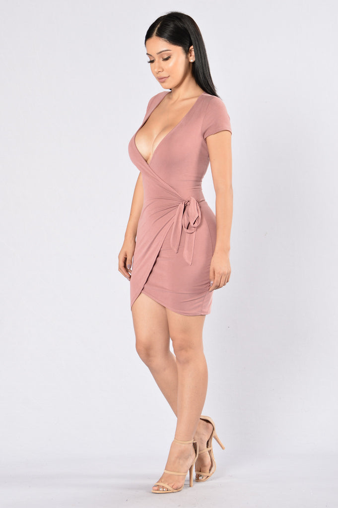 Rum Girl Dress - Mauve