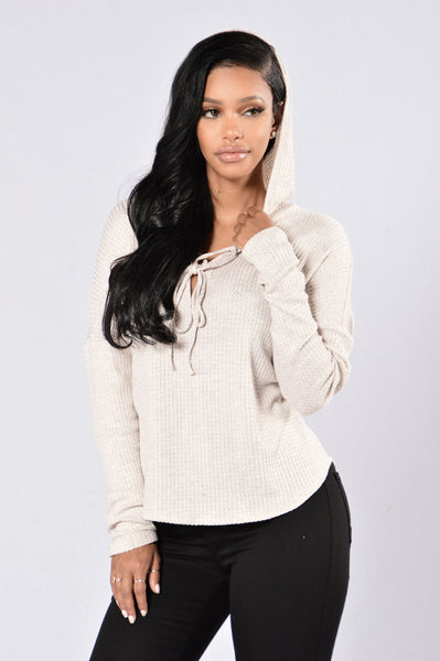 Lonely Hearts Club Sweater - Taupe