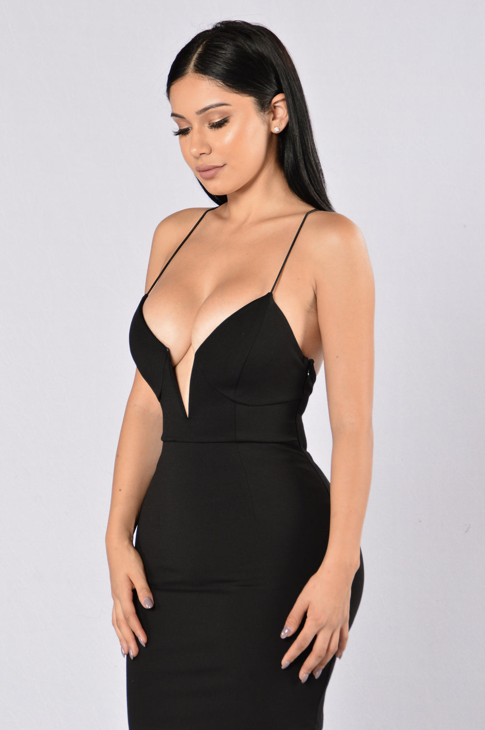 Love To Watch Me Leave Dress - Black