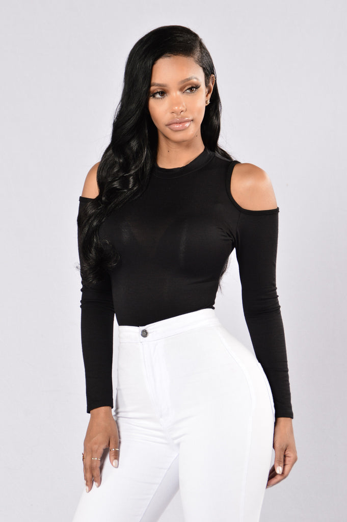 It's Cold Out Here Bodysuit - Black