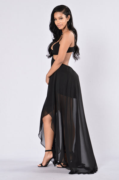 Miami Beach Dress - Black