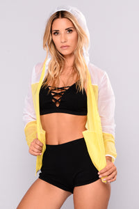 Champs Performance Active Jacket - Yellow/White