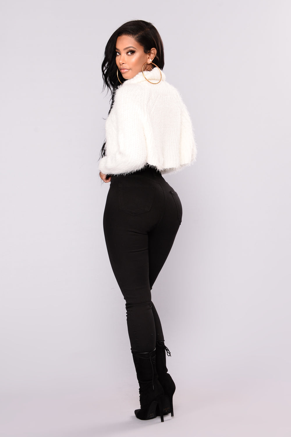 Dory Turtleneck Sweater - Ivory